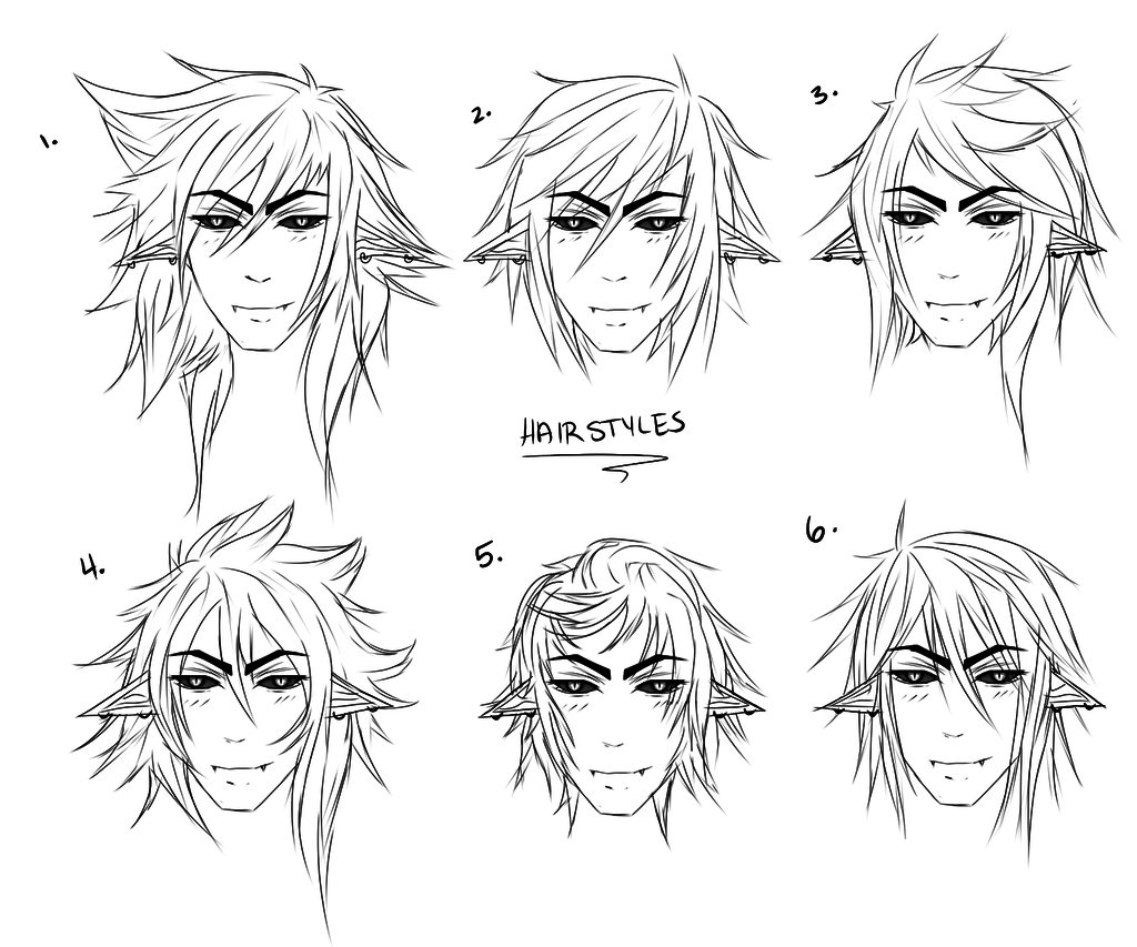 1024x853 Cool Anime Male Hairstyles Hair