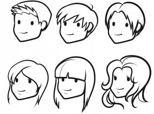 302x224 How To Draw How To Draw Hair For Kids