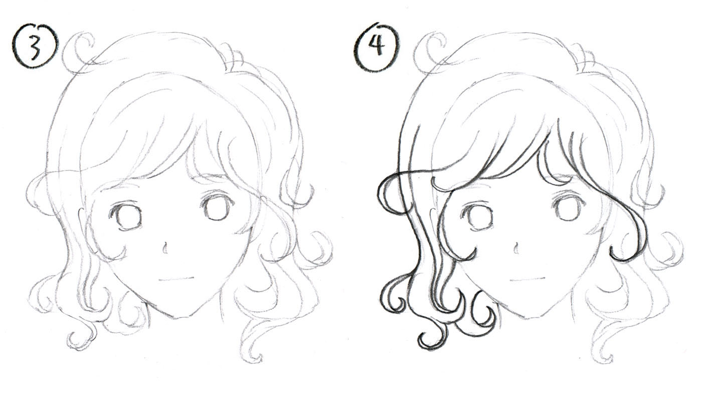 1422x800 Johnnybro's How To Draw Manga How To Draw Manga Hair (Part 1
