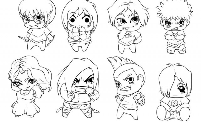 640x420 Tutorial Chibi Boy By N3x0n. Draw Anime Drawings Of Boys Anime