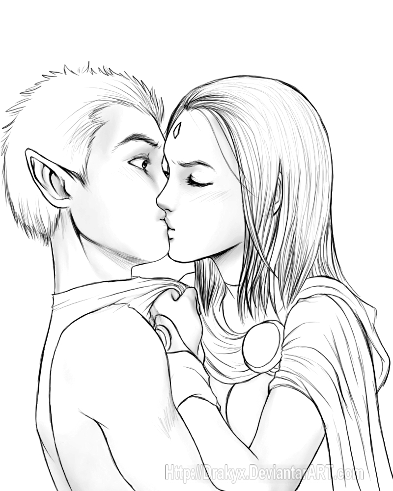800x1000 29 How To Draw A Girl And Boy Kissing Step By Step, How Step Boy