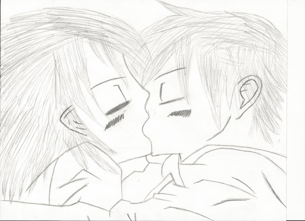 1024x745 Boy And Girl Kissing(Scanned) By Xspectr3x