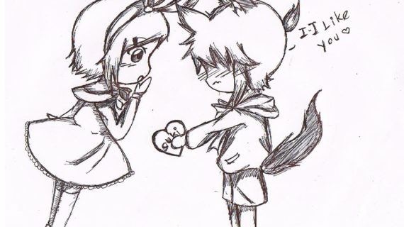 570x320 Love Drawing For Girlfriend Cute Doodles To Draw For Your