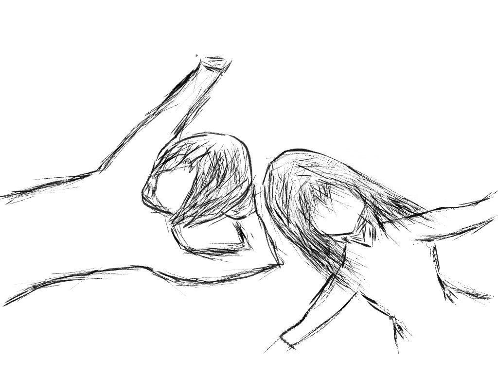 1024x768 Cute Bf Gf Anime Hug