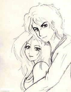 236x305 Drawing Anime Boyfriend And Girlfriend