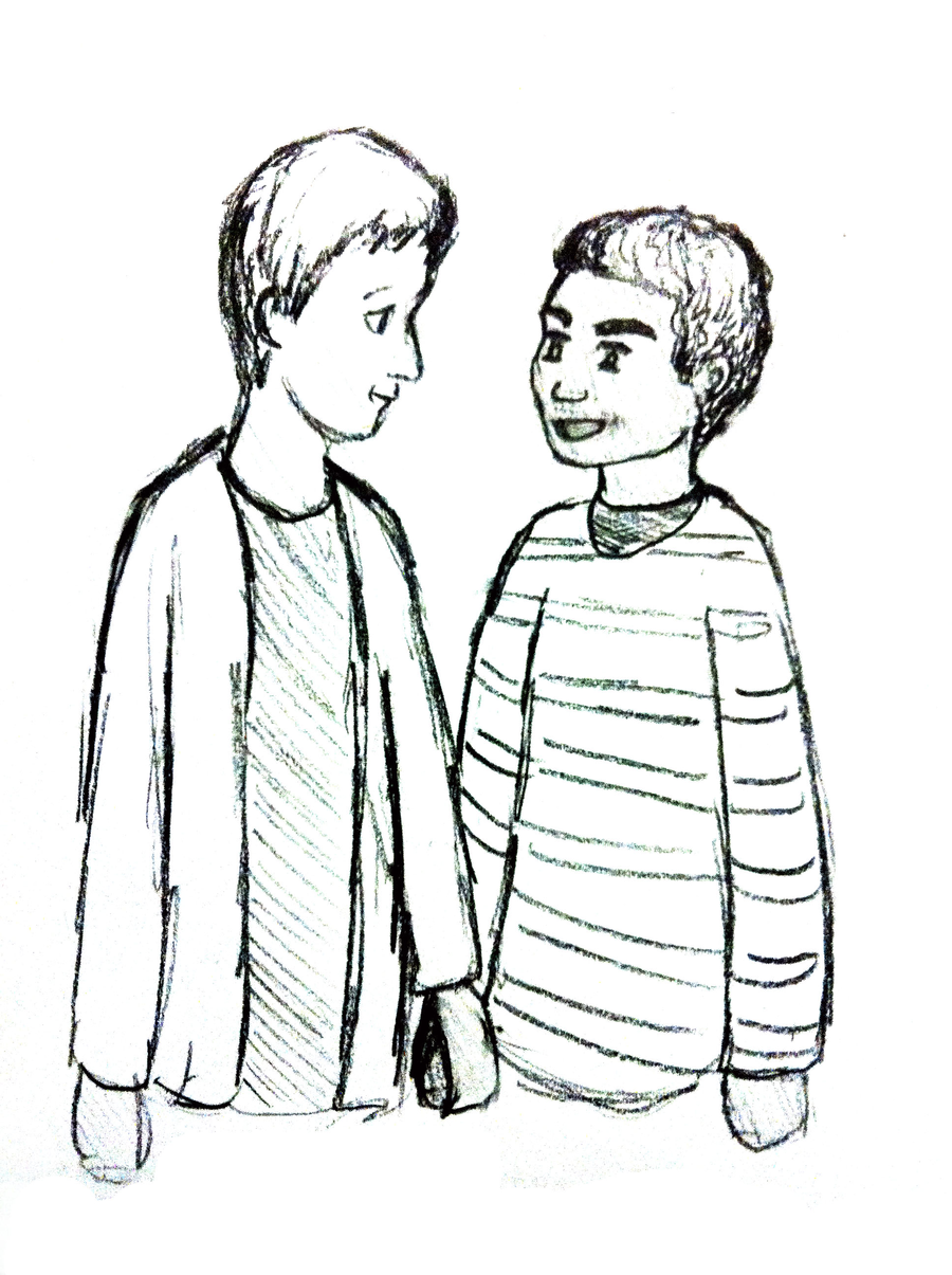 900x1205 Troy and Abed in a Drawing! by gigogurl on DeviantArt