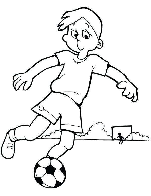 600x777 Boys Coloring Games Soccer Coloring Pages Printable Media