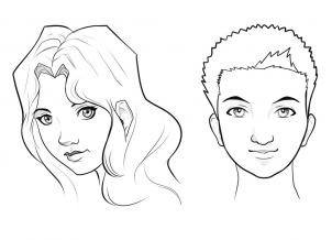 302x218 Drawing How To Draw An Easy Face