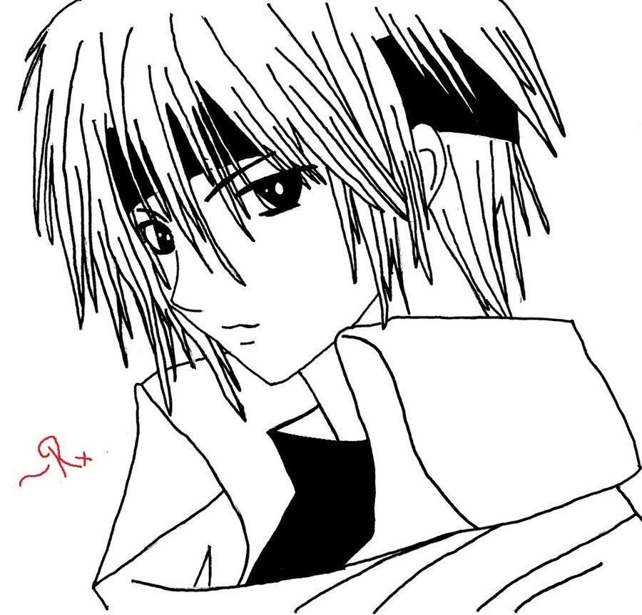 900x862 Manga Boy By Artandpoems