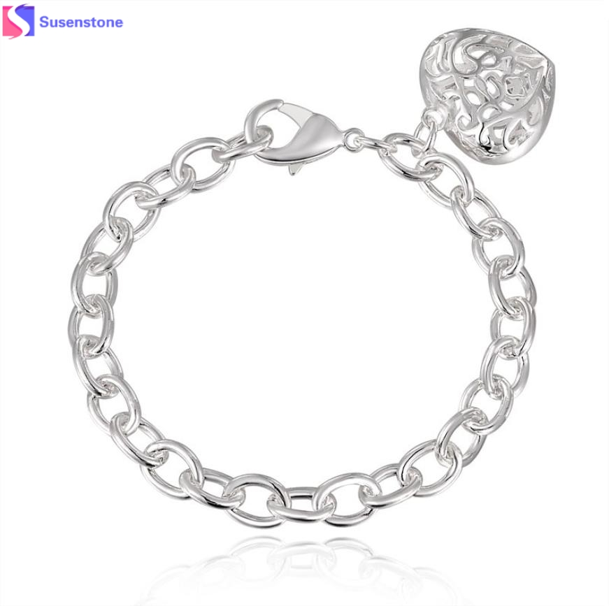 871x867 Susenstone 2016 New Fashion Silver Plated Shackles Bracelets