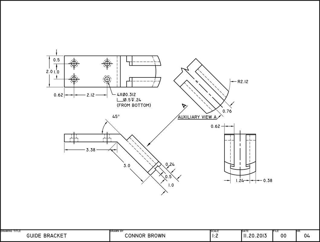 Bracket Drawing at GetDrawings com   Free for personal use