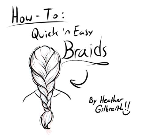 500x449 Braided Hair Tips Tumblr