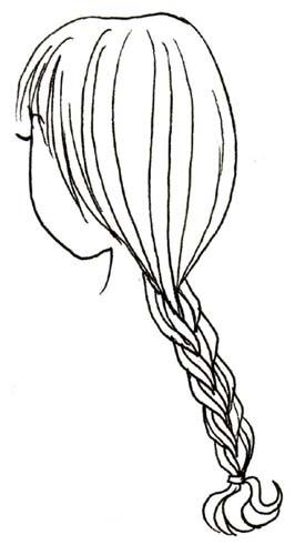 Draw Braids Anime How To Draw Braids The Best Ways To Draw A Braid