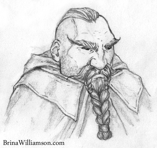 650x615 Dwarf A Day Battle Worn Dwarf Scribblings Of Brina Williamson