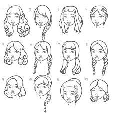 225x225 Image Result For Hair Styles Sketch Hair Styles