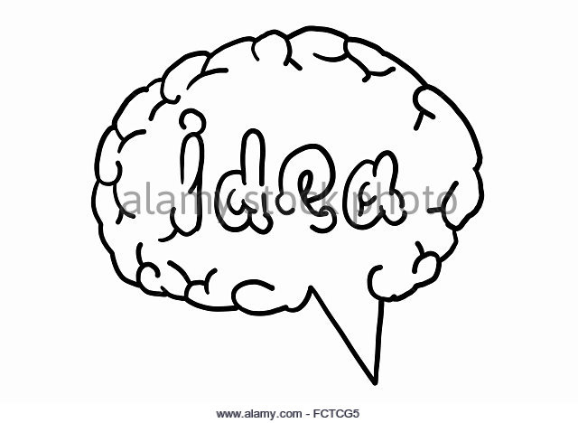 Brain Pencil Drawing at GetDrawings   Free download