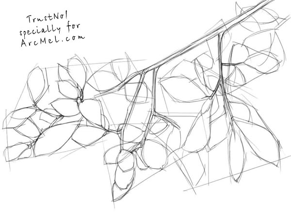 600x450 How To Draw Branches Step By Step