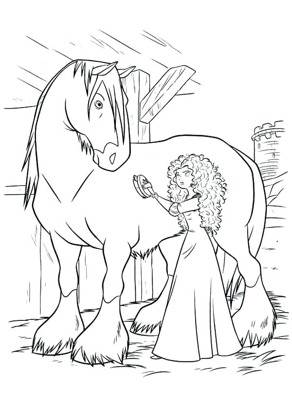600x840 Brave Coloring Pages Brave Coloring Page Brave Coloring Pages Pdf