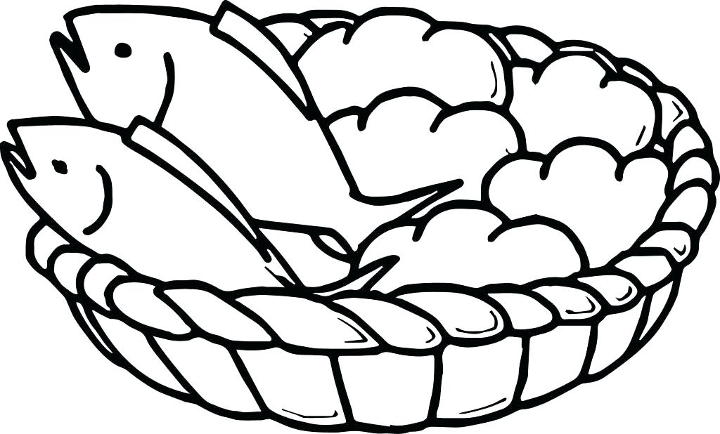 1024x618 Here Are Bread Coloring Page Pictures