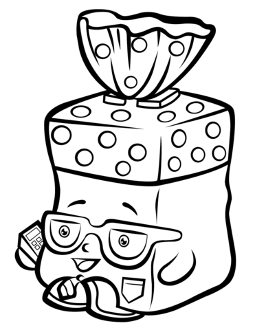 371x480 Bread Head Shopkin Coloring Page Free Printable Coloring Pages