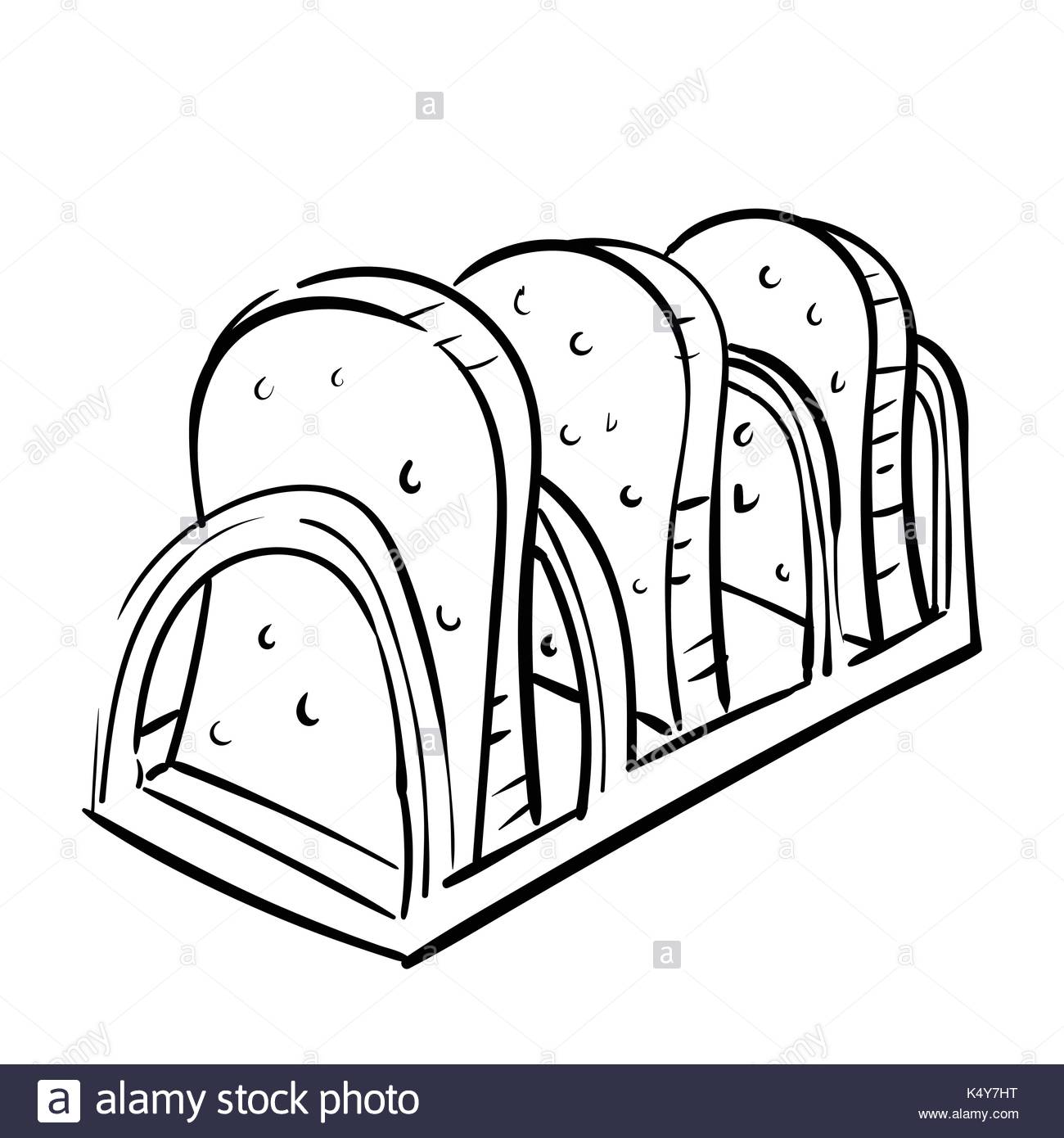 1300x1390 Slice Of Bread Black And White Stock Photos Amp Images