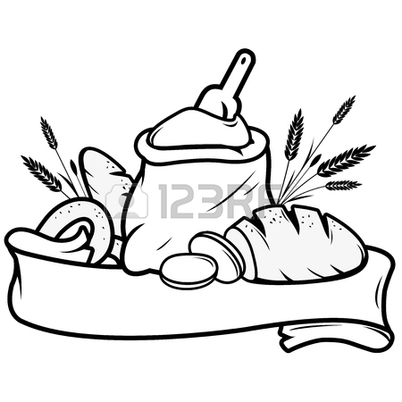 450x450 17,019 Bread Loaf Stock Vector Illustration And Royalty Free Bread