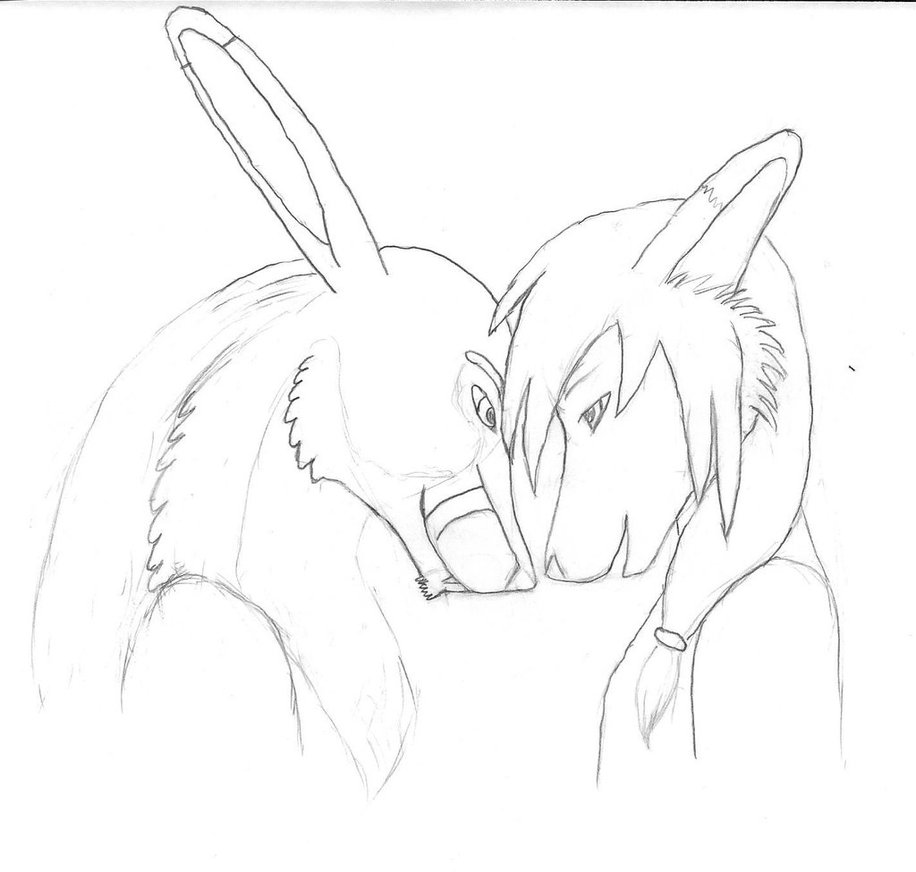 916x872 Couples Art Wip(Canceled Breakup) By Pineapplefox Citrus