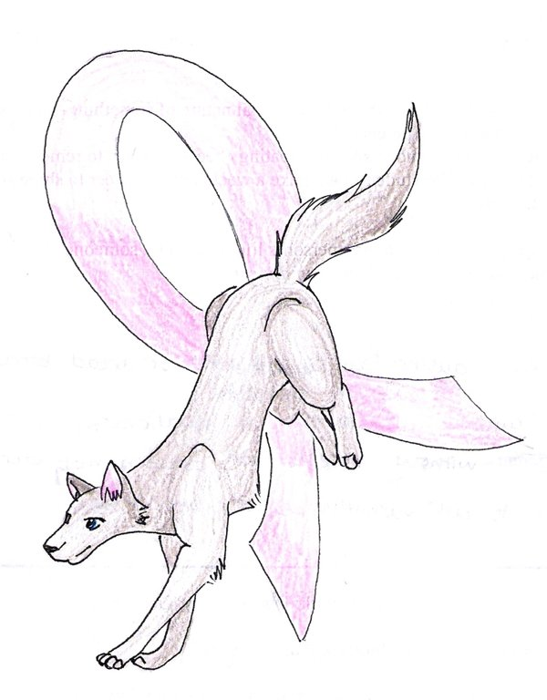 600x768 Breast Cancer Wolf By Vietien