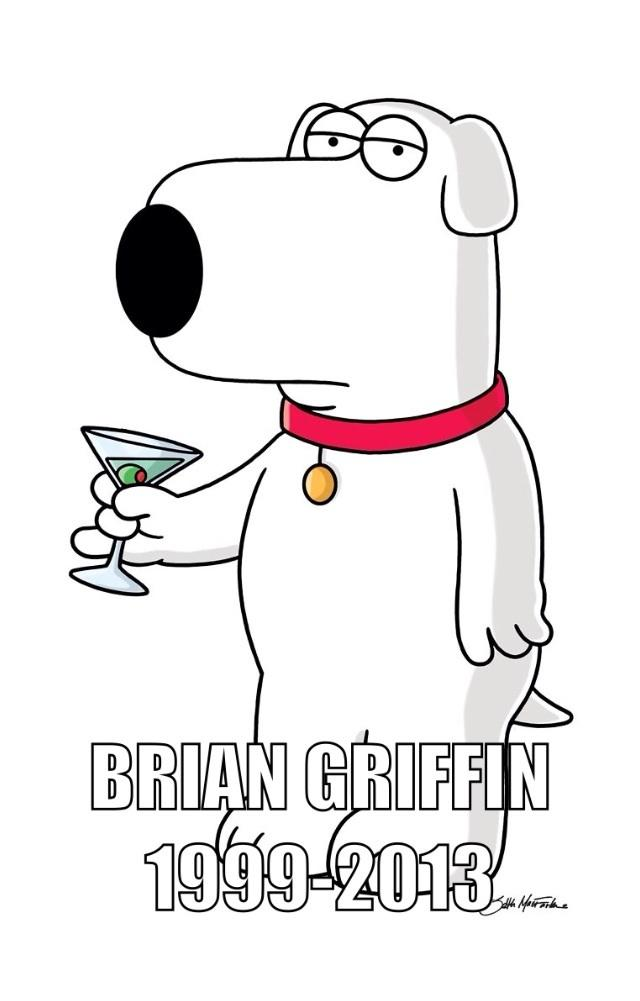 640x1001 Brian Is The Dead Griffin. Death Of Brian Griffin Know Your Meme
