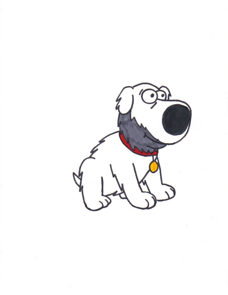 786x1017 Crazed Brian Griffin By Vinneyv