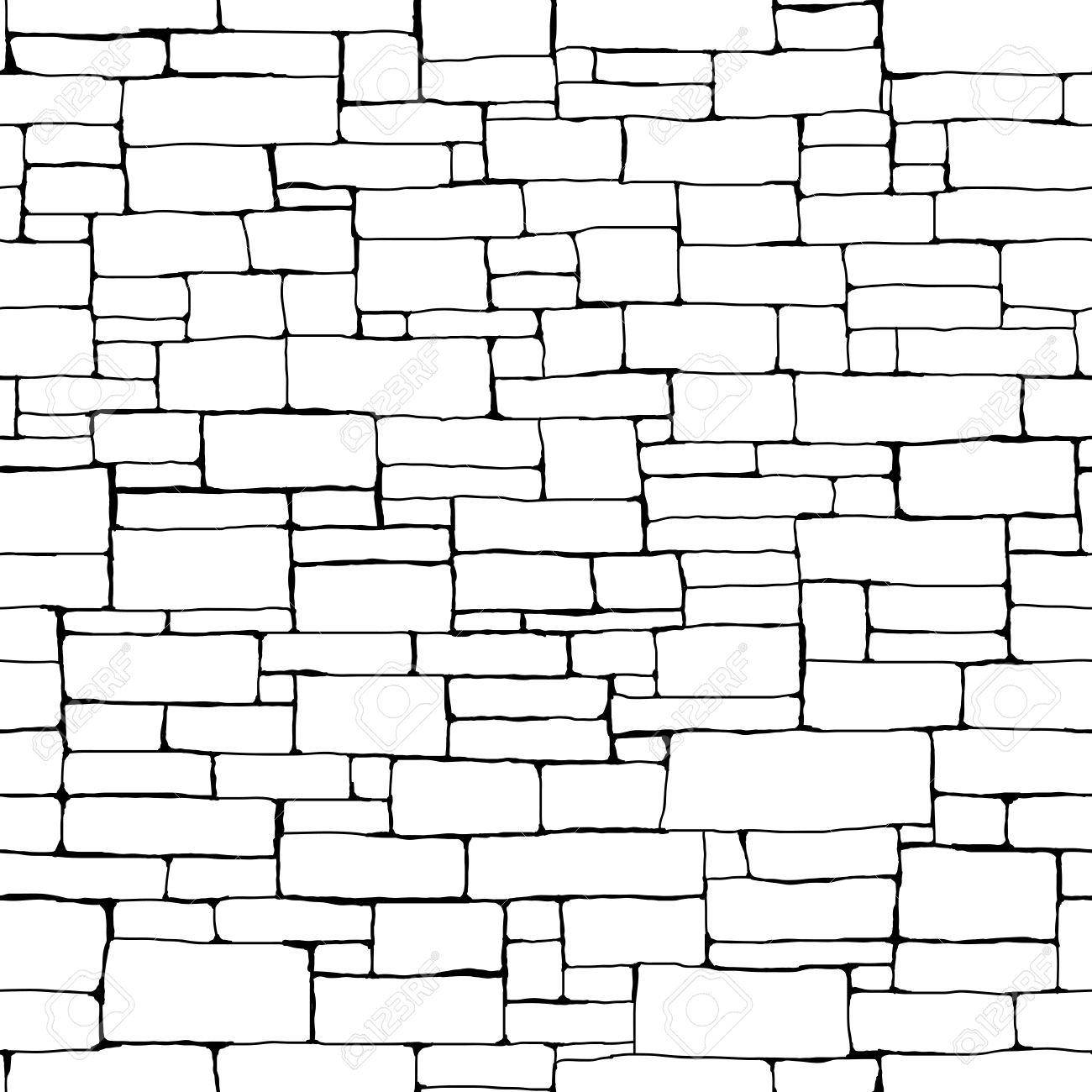 1300x1300 Home Design Brick Wall Black And White Drawing Sunroom Kids