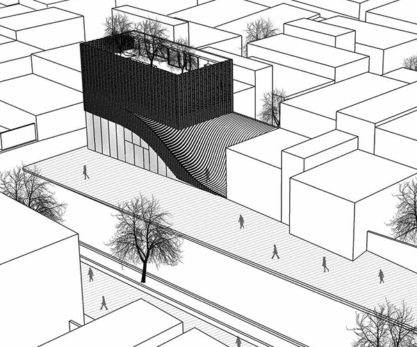 600x500 Office Commercial Building Farshad Mehdizadeh Architects + Ahmad