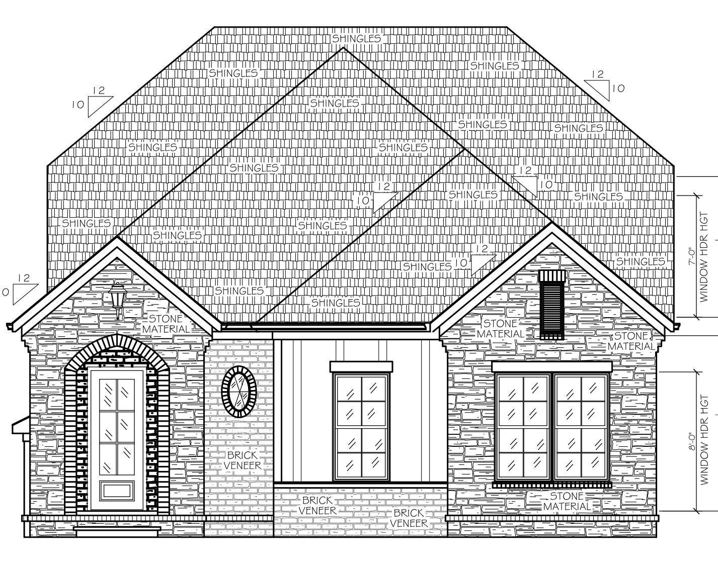 1427x1140 The Georgia Home Plans Dalamar Homes