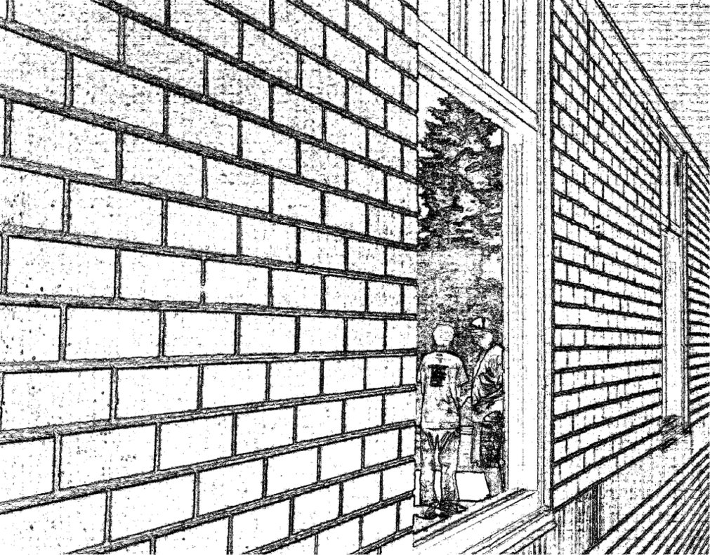 1011x790 Brick Wall By Anime The Dino