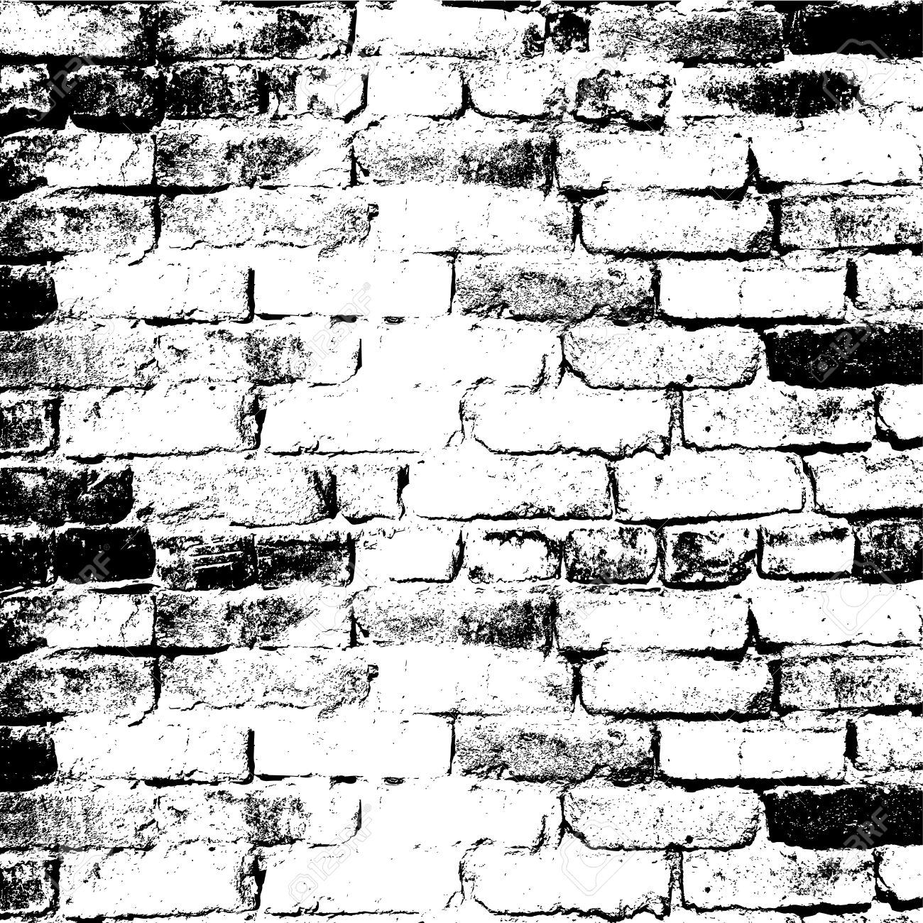 1300x1300 Brick Wall Of The House, With Lines Of A Laying Of A Solution