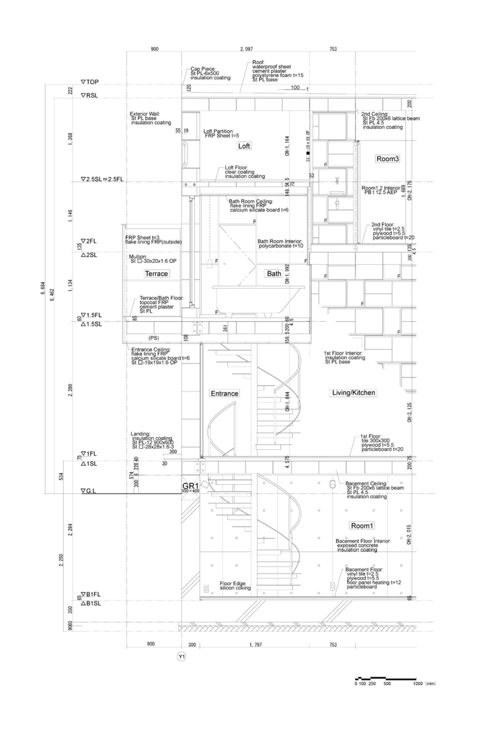 1680x2466 Cell Brick Yasuhiro Yamashita Tokyo