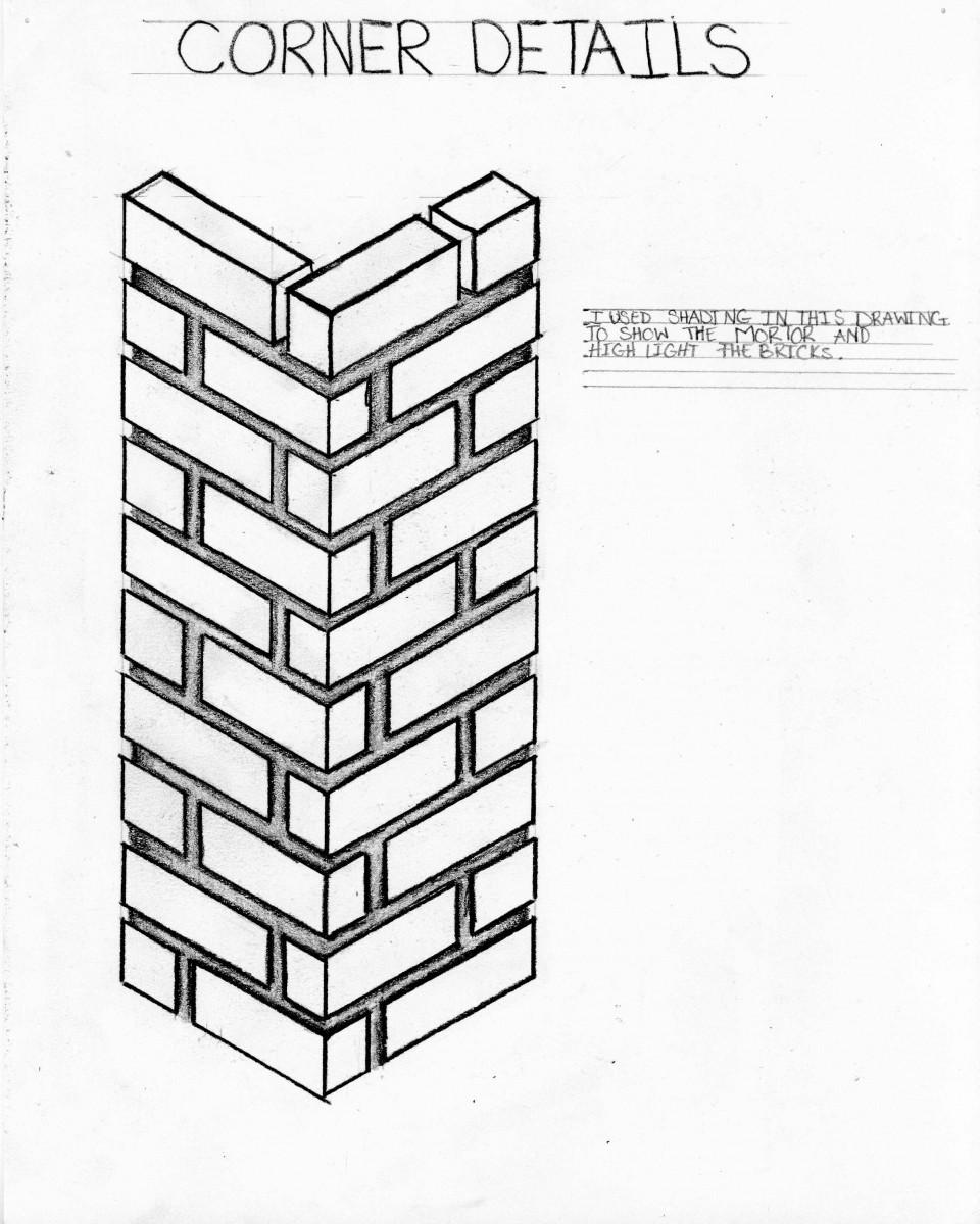 960x1200 Arch 1130 Brick Sketches Jennifer Reyes's Eportfolio
