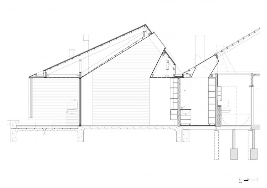 850x600 Skylight House Byrew Burges Architects Architects