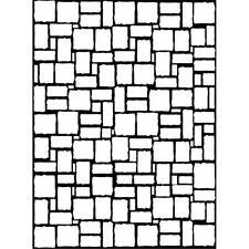 225x225 Darice Brick Wall Universal Embossing Folder 1217 59 Ebay
