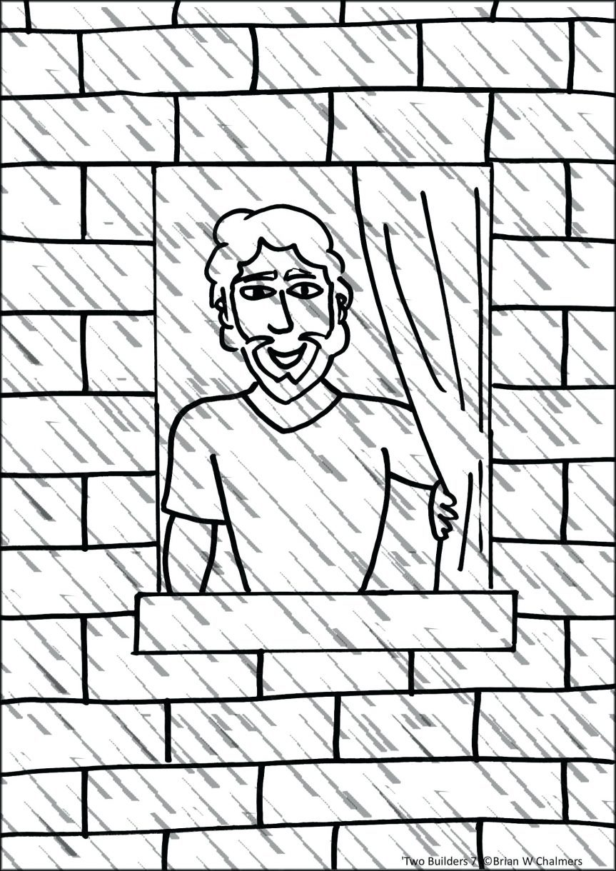 863x1220 Free Brick Wall Coloring Pages Coloring Page For Kids