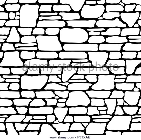 543x540 Seamless Brick Texture Black And White Stock Photos Amp Images