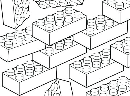 norcor brick coloring book pages - photo#13