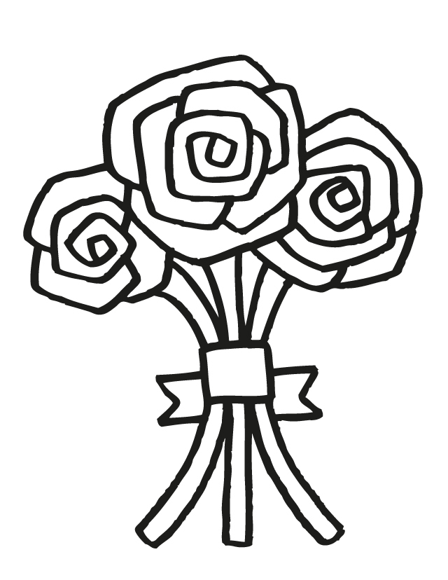 How To Draw A Bouquet Of Flowers Easy Flowers Ideas