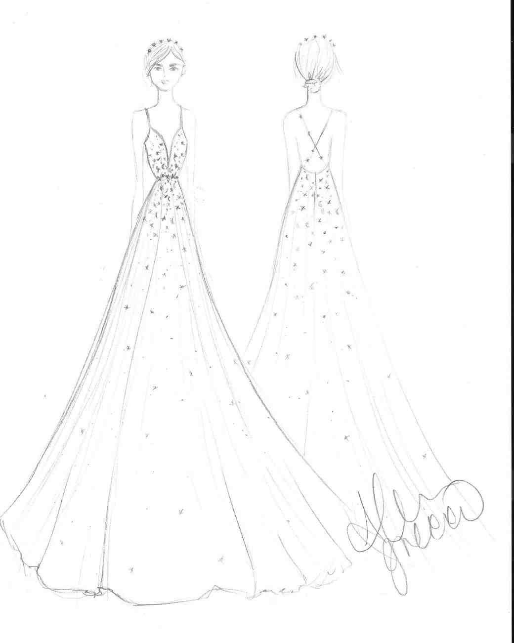 1040x1301 Drawn Bride Dress