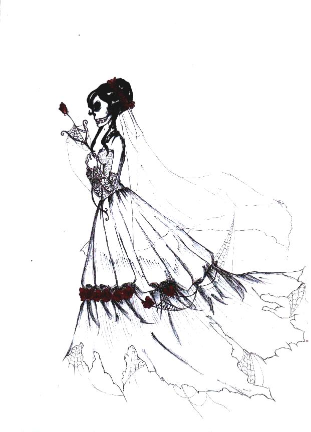 621x863 Ghost Bride By Mybulletforlove