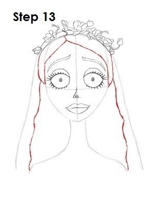 300x388 How To Draw Corpse Bride (Emily) Selamat Datang Di Yogadinata's Blog