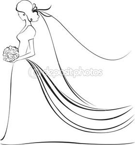 279x300 Bride Cartoon Free Images