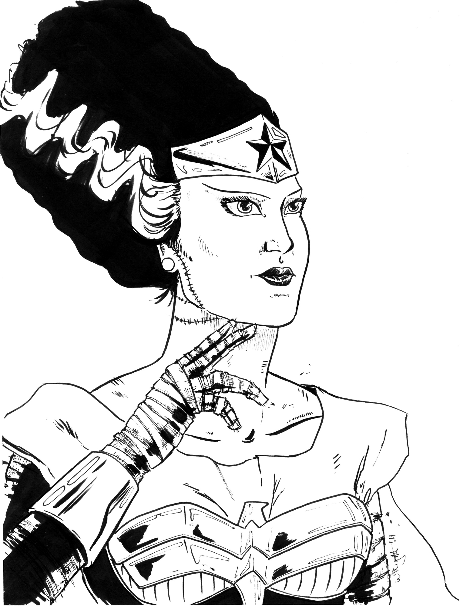 1517x2000 Spooktober! Bride Of The Amazons!