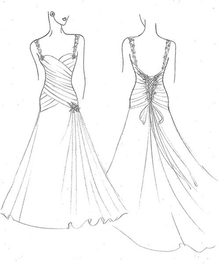 Bridesmaid Drawing At GetDrawings