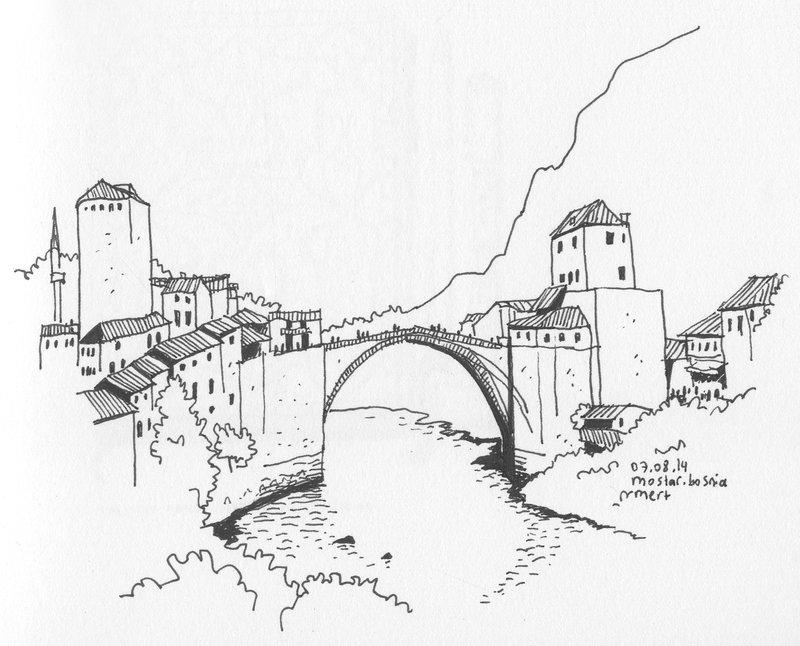 800x646 Mostar Bridge, Mostar, Bosnia By Bozwolfbros